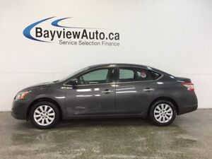 2015 Nissan SENTRA S - BLUETOOTH! CRUISE! A/C! PWR GROUP!