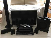 "Panasonic 32"" Viera Link TV with Surround Sound Package"