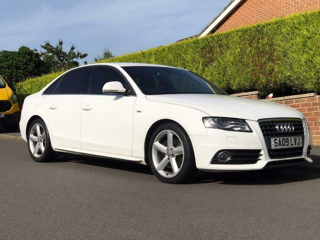 AUDI A4 (1 8 Turbo) 2009 S LINE In IBIS WHITE | in Sheffield, South  Yorkshire | Gumtree