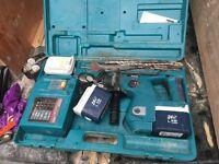24 V Makita SDS hammer drill (priced reduced}