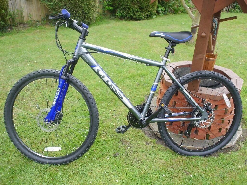 New Unisex Cross Fxt 500 Mountain Bike In Epsom Surrey