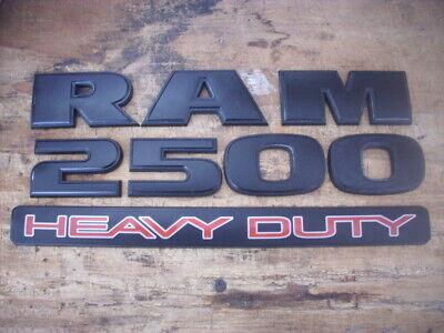 Dodge Ram 2500 Heavy Duty Door Black Emblem 2007-2018 Left or Right OEM