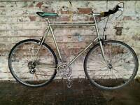 """XL 25"""" Raleigh Record Campagnolo road bike"""