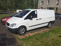 Beautiful well kept Mercedes Benz Vito Van with 6 Seats + Alloys + 1 Year MOT