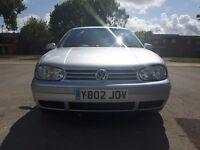 2002 MK4 VW GOLF 1.9 GT TDI pd130 Full MOT no advisories, cheap tax and insurance.