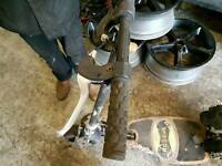 2x Maxxus 35cc petrol powerboards skate spares or repair
