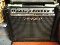 Peavey Studio 50 watt guitar amp - great sound.