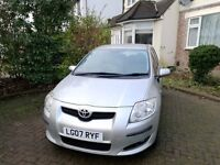 Reduced 200, Toyota Auris 1.6 for sale due to job change