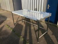 COMMERCIAL Stainless Steel Work TABLE/ Prep Work Top