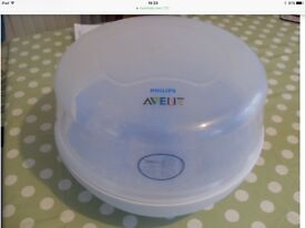 Avent baby microwave steriliser please see my other items for sale thanks