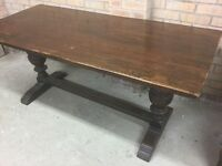 Tudor style refectory table
