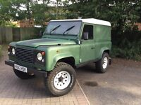 Land Rover Defender 90 300Tdi, low mileage, good service history, open to sensible offers