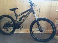 Scott Voltage FR20 downhill mountain bike