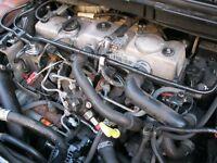 Ford 1.8 TDCi Complete Diesel lynx engine for sale. £425. TEL:07432539522.