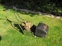 Web petrol cylinder mower