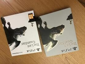 The Last Guardian Steel book PS4