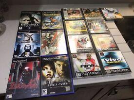 Playstation 1 Playstation 2 Games