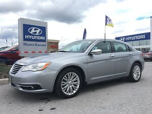 2013 Chrysler 200 Limited TRADE IN LEATHER SUNROOF