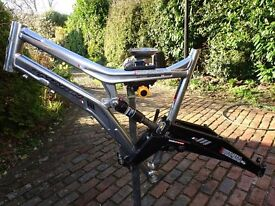 """Marin Rock Springs Mountain Bike 19"""" Large Frame in nearly new condition."""