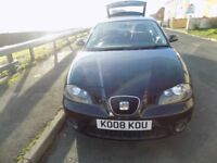 SEAT IBIZA SPORT RIDER ALL GOOD, NO FAULTS £1250 NEW MOT YESTERDAY ONE OWNER FROM NEW