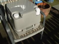 Porta potty for camper, caravan or camping/fishing ect.