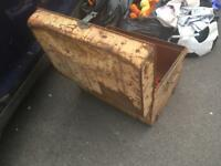 Large metal chest