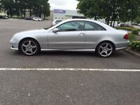 MERCEDES BENZ CLK220 AMG SPEC! £5495 AUTOMATIC LEATHER SPORT