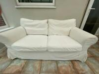 IKEA Extorp Two Seater sofa plus extra cover