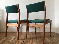 Mid Century Danish chairs (Pair)