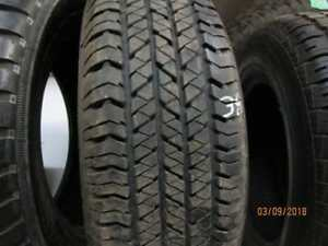 205/70R15 SINGLE ONLY USED BRIDGESTONE A/S TIRE