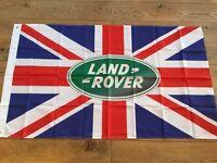 Land Rover workshop flag banner freelander defender discovery Range Rover lightweight series 1 2 3