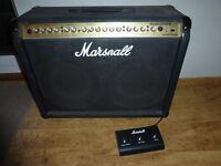 """Marshall Valvestate VS65 2 x 12"""" 65 watt guitar amplifier combo"""