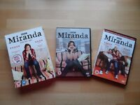 Miranda Series 1 & 2 DVDs, BBC, Certificate 15