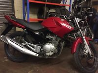 Yamaha YBR learner legal low mileage MOT and service