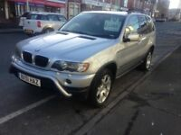 BMW X5 3 LT AUTO SPORT FULL MOT ONLY 139K DRIVES A1 CLEAN £1995