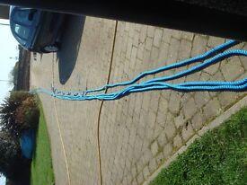 Marine Polyprop rope new unused 18mm approx 95 yds single length .Mooring rope or Dockside rope.