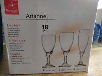 Set of 18 Italian Glassware