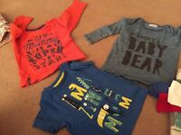 Boy age 12-18 months bundle of clothes over 70 items