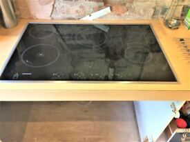 Siemens Ceramic Hob with Halogen Ring 7 Options of Heating Touch Control