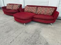 Matching sofas free delivery locally £75