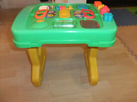 Tomy - Multi-activity table £8