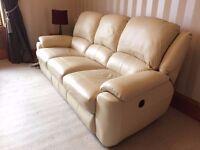 Leather Recliner Sofa - (Sofology) - Motorised