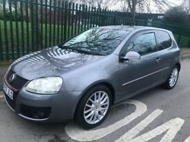 07 VW GOLF 2.0 GT TDI 170, 3dr, F/S/H, New Duel mass flywheel, clutch and Cambelt Just Replaced
