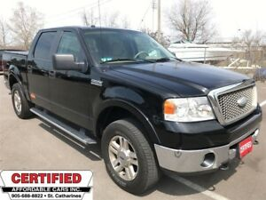 2008 Ford F-150 Lariat ** 4X4, BACKUP CAM, TOW PKG **