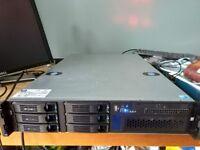 Intel S5500BC server, 2x Xeon E5640, 8GB, LSI 9260-8i RAID, SAS, 2x PSU - NICE!!