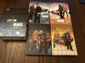 Life on Mars- complete series 1&2 DVD set