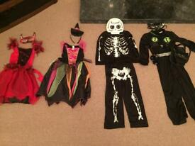 Halloween - children's dressing up outfits