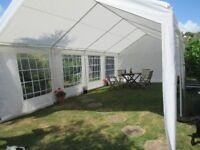 Marque, 4m x 8m Party Tent including ground bar set