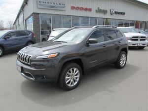 2016 Jeep Cherokee LIMITED ACTIVE DRIVE II 4WD