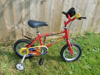 Raleigh Ollie 12 Kids Bike (12 inch wheels)